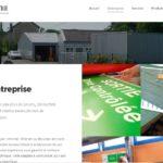 Rédaction web du site de l'entreprise de sérigraphie Séritech86