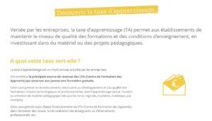 Taxe d'apprentissage, une ressource pour la Maison Familiale Rurale de Chauvigny