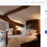 """Site web chambres d'hôtes """"La Lavandière"""""""