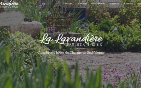 Site web La Lavandière
