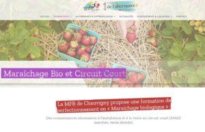 Maraîchage bio et le circuit court, formation de la MFR de Chauvigny