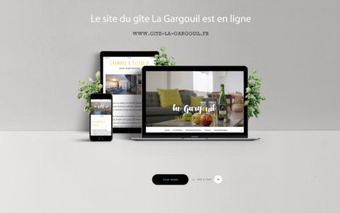 site web La Gargouil - Rédaction LS Com' - Conception Mila WebDesgn