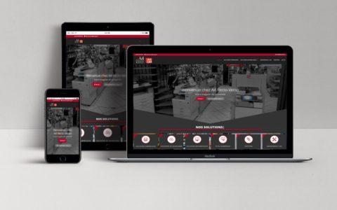 """Site web A4RectoVerso - Rédaction LS Com"""" - Concetpion Alatrès Design"""