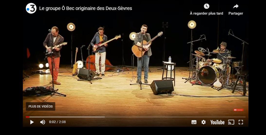ô Bec ! reportage France 3 Poitou Charentes