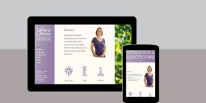 Site Web Valérie Deniau Sophrologue - Rédaction LS Com' - Conception MilaWebDesign