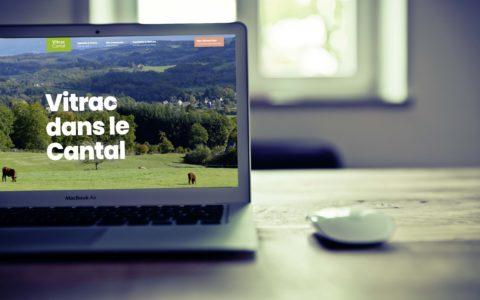 Site-Web-Commune-de-Vitrac-Cantal - Rédaction by LS Com' - Conception MilaWebDesign