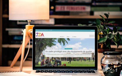 Site Web Groupe scolaire Jeanne d'Arc Civray - Rédaction LS Com' - Conception MilaWebDesign